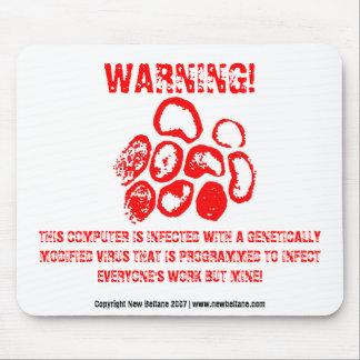 警告! マウスパッド