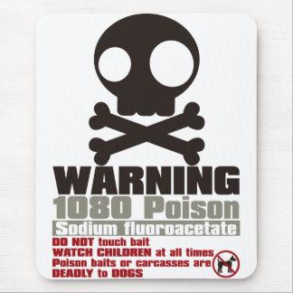 警告 マウスパッド