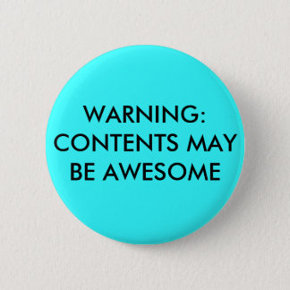 警告: 内容は素晴らしいかもしれません 缶バッジ