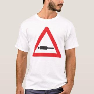 警告: 前方のPlanking Tシャツ