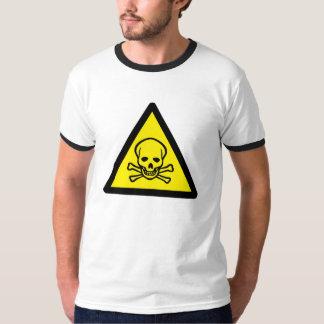 警告: 毒 Tシャツ
