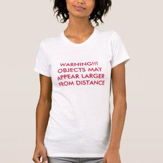 警告!!! 間隔からより大きい目的MAYAPPEAR Tシャツ