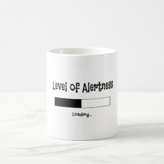 警報のマグのデザインのレベル コーヒーマグカップ