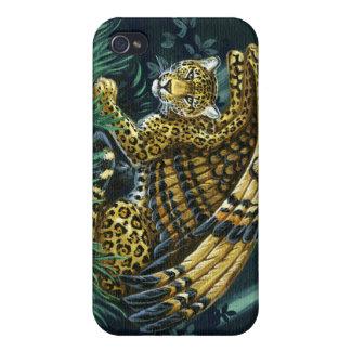 警報飛んだジャガーiPhone4の例 iPhone 4/4Sケース