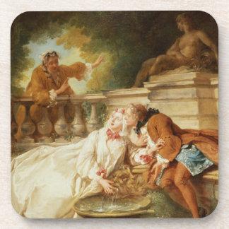 警報1723年(キャンバスの油) コースター