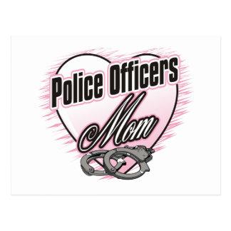 警官のお母さん ポストカード