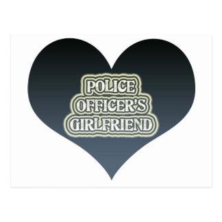 警官のガールフレンド ポストカード