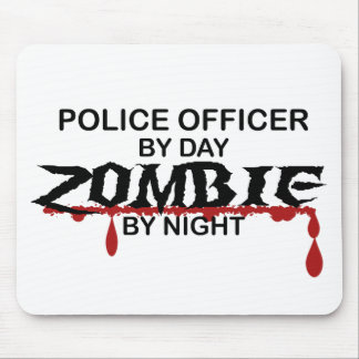 警官のゾンビ マウスパッド
