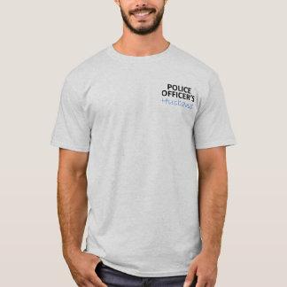 警官の夫 Tシャツ