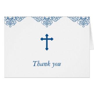 警官の洗礼か《キリスト教》洗礼式や命名式は感謝していしています カード
