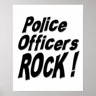 警官の石! ポスタープリント ポスター