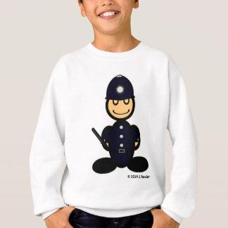 警官(明白な) スウェットシャツ