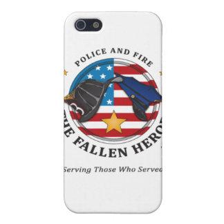 警察および火: 落ちたな英雄iphone4の例 iPhone SE/5/5sケース