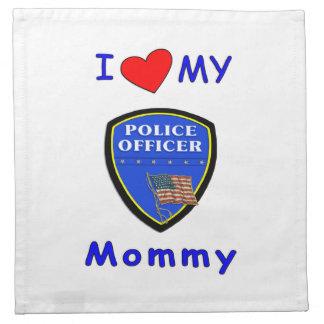 警察のお母さん愛 ナプキンクロス