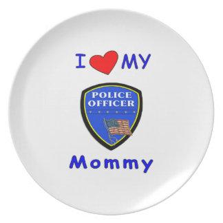 警察のお母さん愛 プレート
