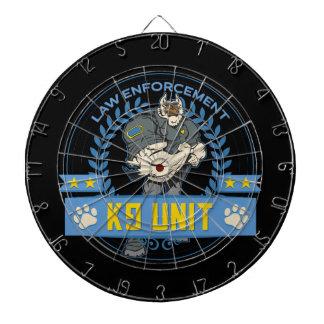 警察のイヌ科動物の単位 ダーツボード