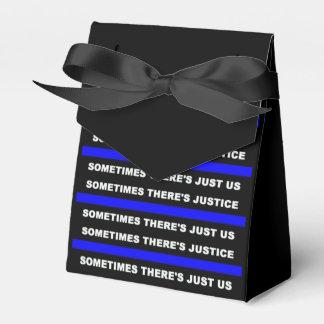 警察のギフト用の箱 フェイバーボックス