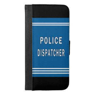 警察のディスパッチャー iPhone 6/6S PLUS ウォレットケース
