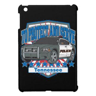 警察のパトカーを保護し、役立つテネシー州 iPad MINI カバー
