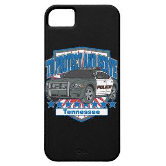 警察のパトカーを保護し、役立つテネシー州 iPhone SE/5/5s ケース