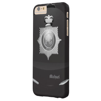 警察のボビーのイギリスのヘルメット BARELY THERE iPhone 6 PLUS ケース