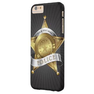 警察の保証バッジ BARELY THERE iPhone 6 PLUS ケース