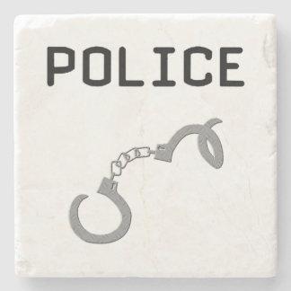 警察の手錠 ストーンコースター