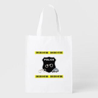 警察の犯罪現場 エコバッグ