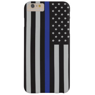 警察の薄いブルーラインアメリカ人を支えて下さい BARELY THERE iPhone 6 PLUS ケース
