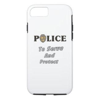 警察は保護し、役立ちます iPhone 8/7ケース