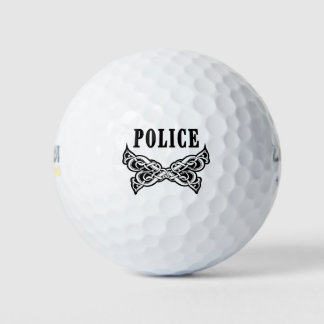 警察は入れ墨します ゴルフボール