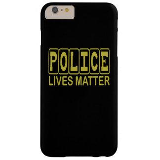警察は問題住んでいます BARELY THERE iPhone 6 PLUS ケース
