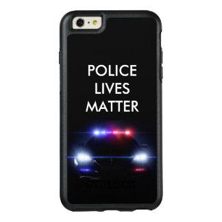 警察は場合問題のSmartphoneの住んでいます オッターボックスiPhone 6/6s Plusケース