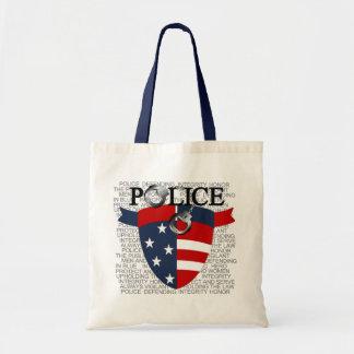 警察は袋に入れます トートバッグ
