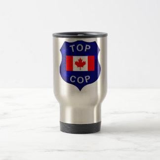 警察官のカナダの上のタンブラー トラベルマグ