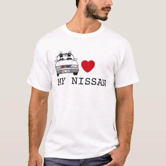 警察官のハート私の日産 Tシャツ