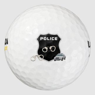 警察官の犯罪現場 ゴルフボール
