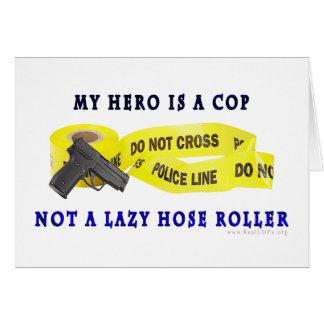 警察官の英雄の警察 カード