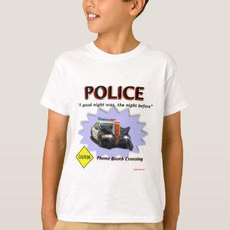 警察悪い夜パトロール Tシャツ