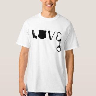 警察愛 Tシャツ
