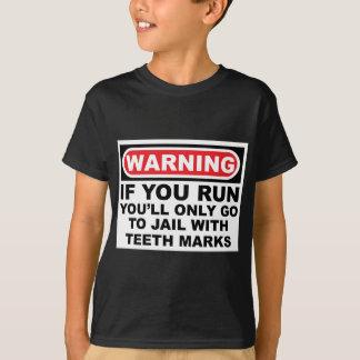 警察犬 Tシャツ