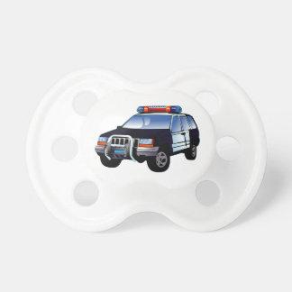 警察署のデザイン車のデジタル芸術の運命 おしゃぶり