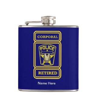 警察身体のRetired Badge フラスク