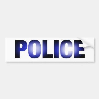 警察3 バンパーステッカー