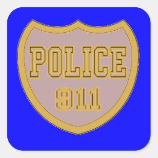 警察911 スクエアシール