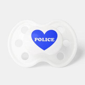 警察 おしゃぶり