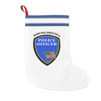 警察 スモールクリスマスストッキング