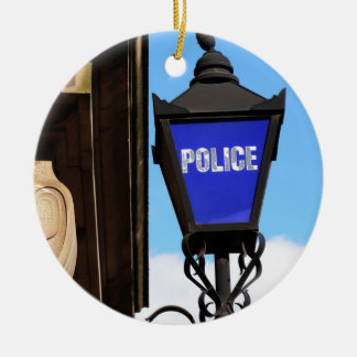 警察 セラミックオーナメント