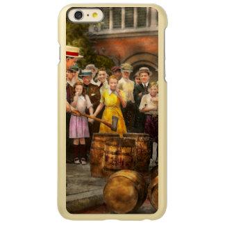 警察-禁止-破壊的でよい時間1921年 INCIPIO FEATHER SHINE iPhone 6 PLUSケース