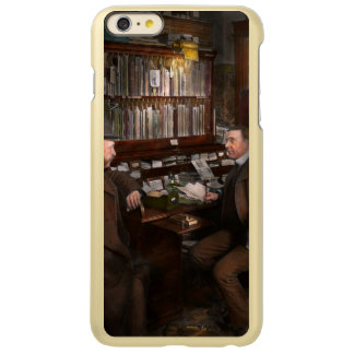警察-私立探偵- 1902年 INCIPIO FEATHER SHINE iPhone 6 PLUSケース